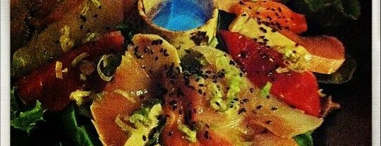 Hama Sushi is one of Mrinabh loves Sashimi.