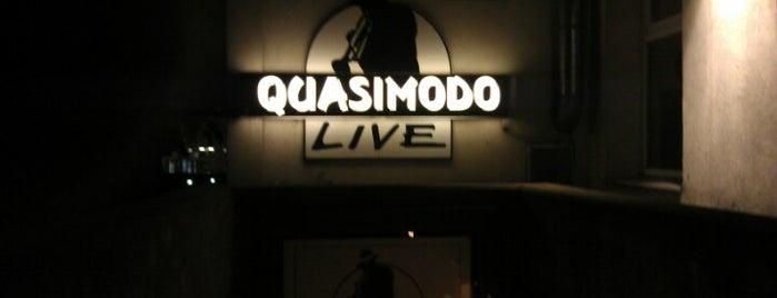 Quasimodo is one of Clubs, Vinyl & Live Music.