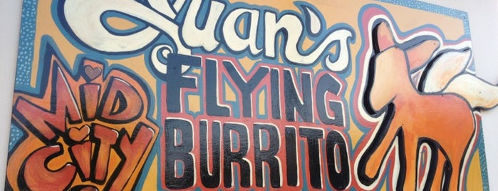 Juan's Flying Burrito is one of NOLA Bucketlist.