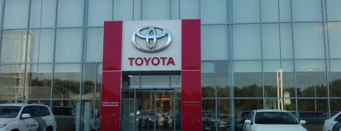 Toyota Центр Новорижский is one of Tatiana 님이 좋아한 장소.