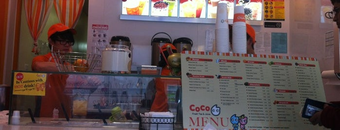 CoCo Fresh Tea & Juice is one of Places to eat/drink.
