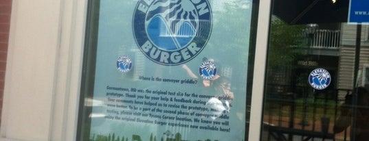 Elevation Burger is one of My Foodie TV Listing.