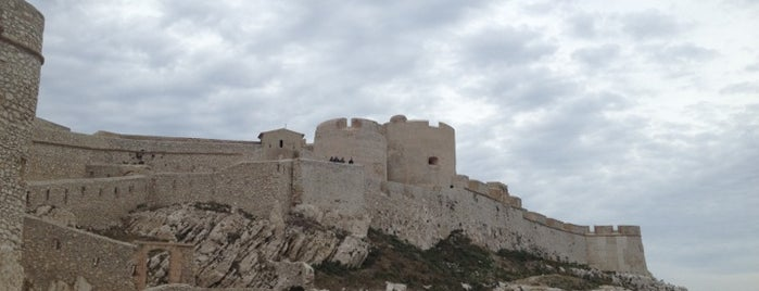 Château d'If is one of Centre des monuments nationaux.