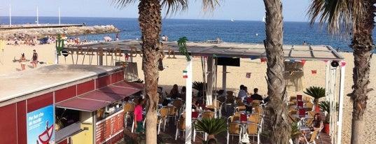Sahara Beach Bar is one of Chiringuitos de Barcelona.