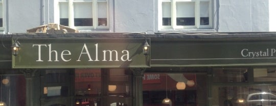 The Alma Pub is one of Tempat yang Disukai Chris.