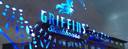 Griffins' Steakhouse is one of TODO Stockholm.
