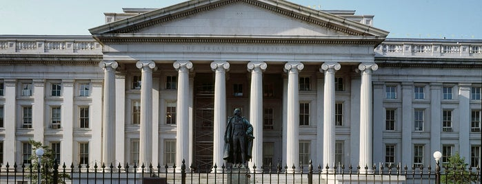 US Department of the Treasury is one of Revolutionary War Trip.