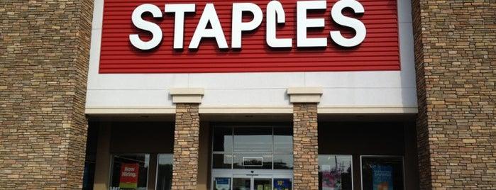 Staples is one of Alan : понравившиеся места.
