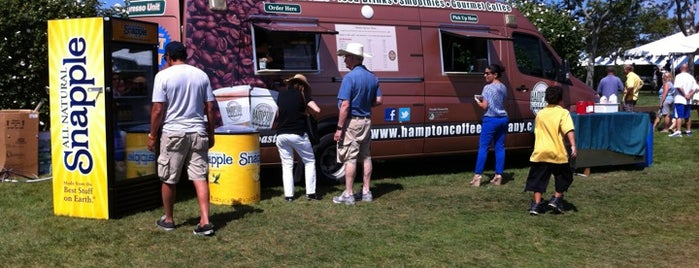 Hampton Coffee at the Hampton Classic (Mobile Espresso Unit) is one of Espresso - Long Island.