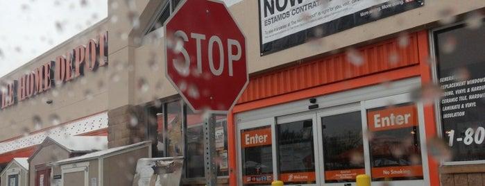 The Home Depot is one of Locais salvos de INVICTUS.