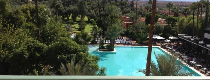La Mamounia is one of Beautiful places.