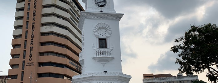 Penang Harbour Lighthouse (Fort Cornwallis Lighthouse) is one of Travel.