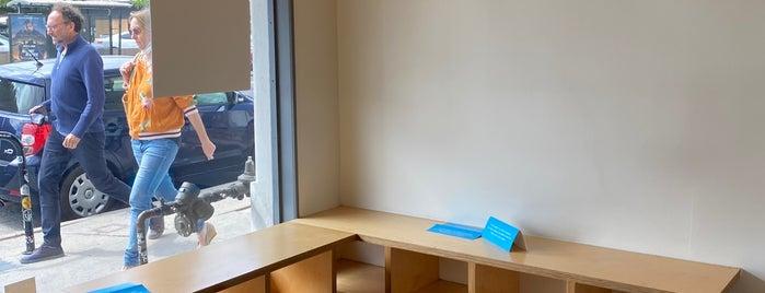 Blue Bottle Coffee is one of Work Work Work Caffeine.