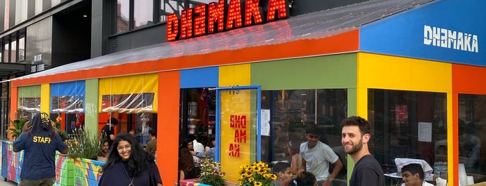 Dhamaka is one of Places to go in NYC.