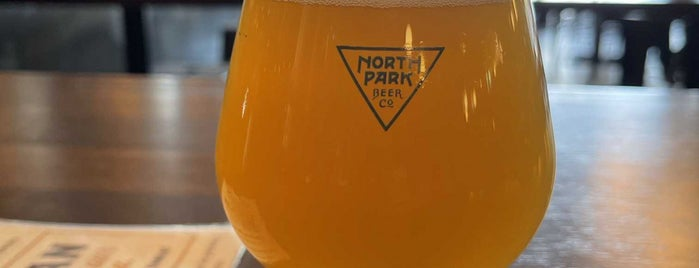 North Park Beer Company is one of SD Drinks.