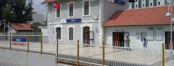 Çiğli Tren / İzban İstasyonu is one of izmir.