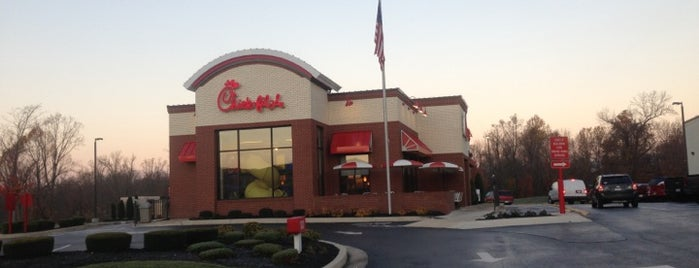 Chick-fil-A is one of Locais curtidos por DaByrdman33.