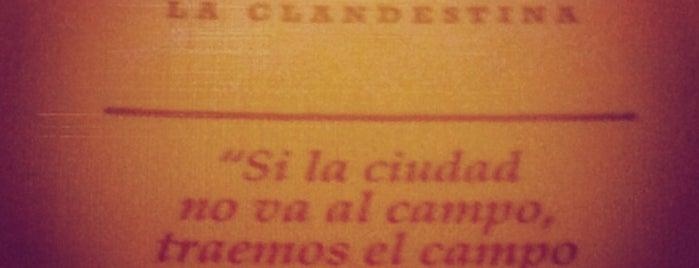 La Clandestina is one of MEXICO.