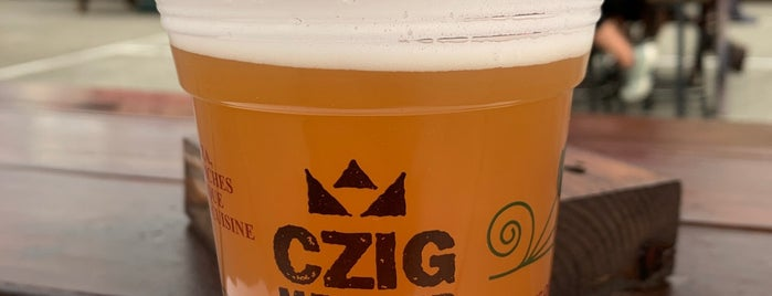 Czig Meister Brewery is one of Locais salvos de Irene.