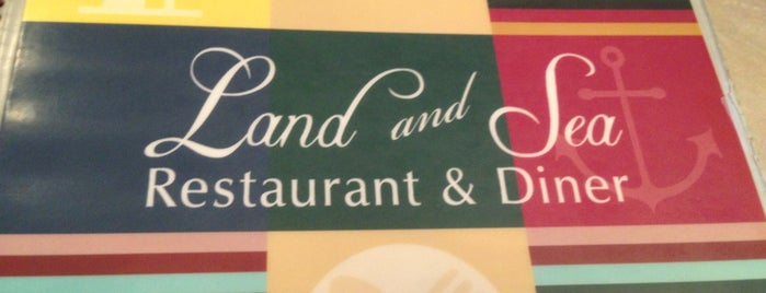 Land & Sea Restaurant is one of Lugares guardados de Lizzie.