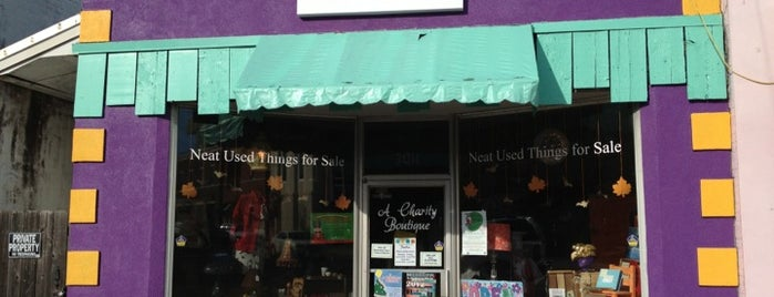 NUTS Fondren is one of Jackson's Consignment, Thrift & Vintage Shops.