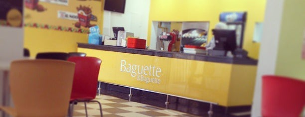 Baguette & Baguette Charguia is one of Specials.