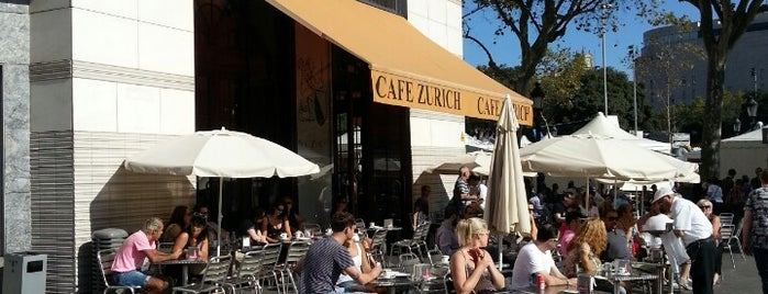 Cafè Zurich is one of Explore Barcelona Like a Local.