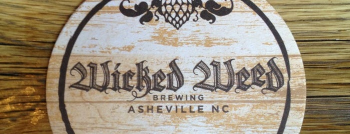 Wicked Weed Brewing is one of Beer / Ratebeer's Top 100 Brewers [2019].