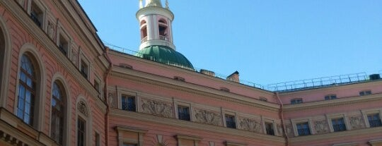 St. Michael's (Engineers') Castle is one of питер.