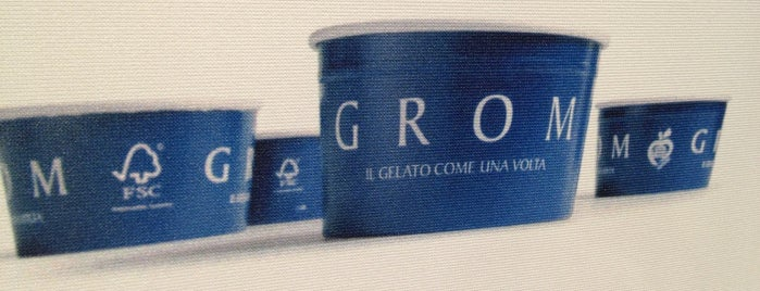 Grom is one of Tempat yang Disukai Paolo Giulio.