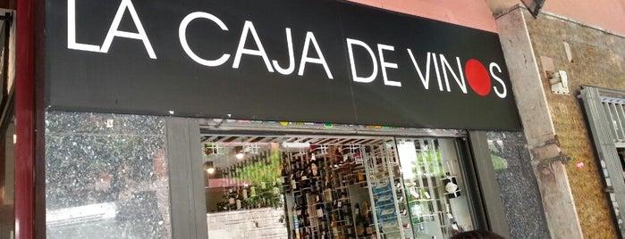 La Caja de Vinos is one of Madrid España.
