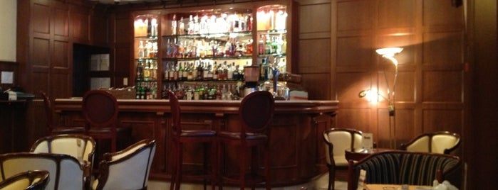 Lobby Lounge Bar at Opera Hotel is one of Посещенные.