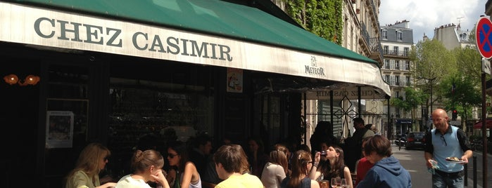Chez Casimir is one of Mes brunchs favoris à Paris.