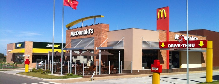 McDonald's is one of Tempat yang Disukai M.a..