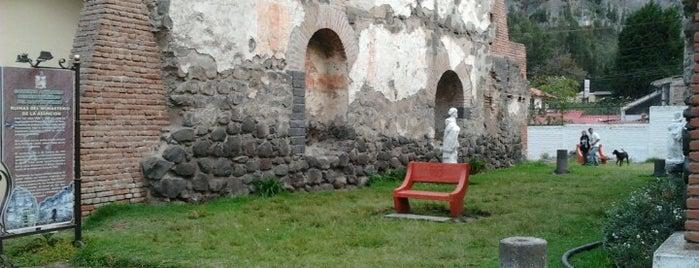 Ruinas del Monasterio de la Asuncion is one of Ecuador.