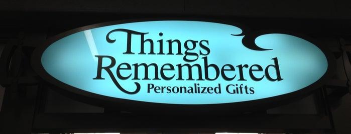 Things Remembered is one of Orte, die Rod gefallen.