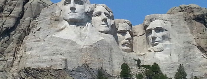 Mount Rushmore National Memorial is one of US Landmarks.