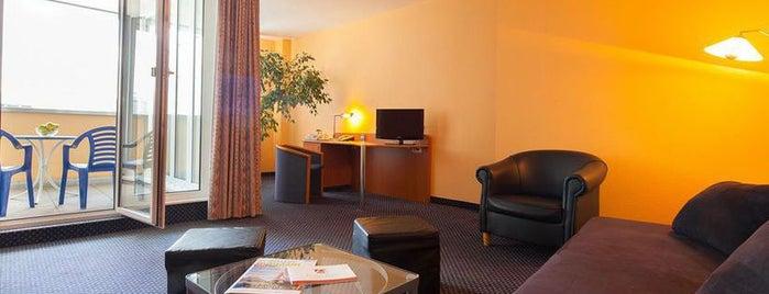 Arcadia Hotel Heidelberg is one of สถานที่ที่ 4sq SUs Austria🇦🇹 ถูกใจ.