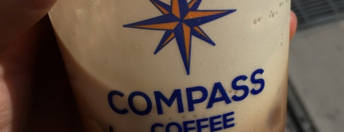 Compass Coffee is one of D.C..