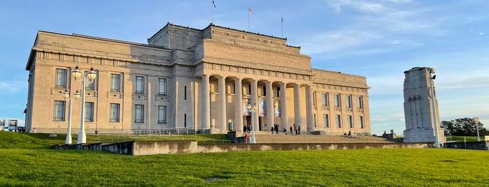 Auckland War Memorial Museum is one of NZ.