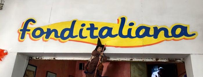 Fonditaliana is one of Para regresar.