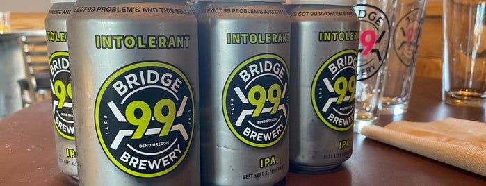 Bridge 99 Brewery is one of Bend.