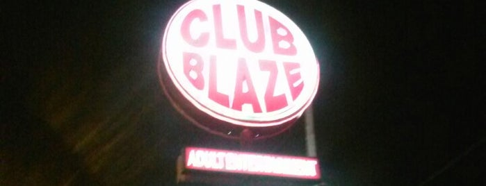 Club Blaze is one of The Naked Hustle...(XXX).