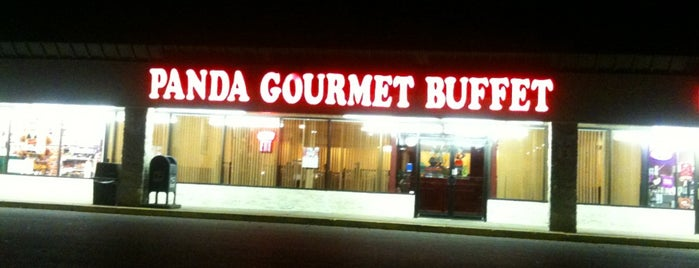 Panda Gourmet Buffet is one of check ins.