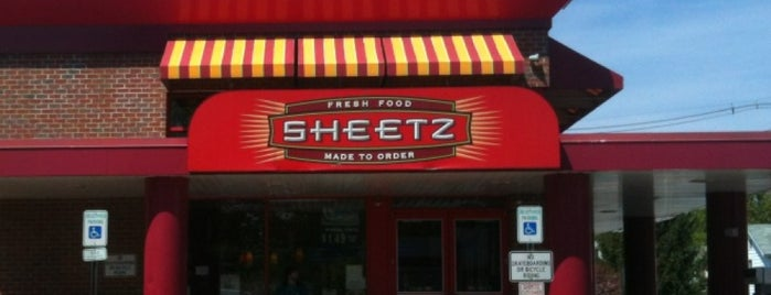Sheetz is one of check ins.