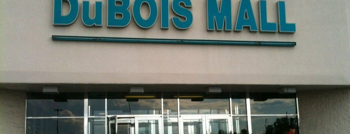 DuBois Mall is one of check ins.