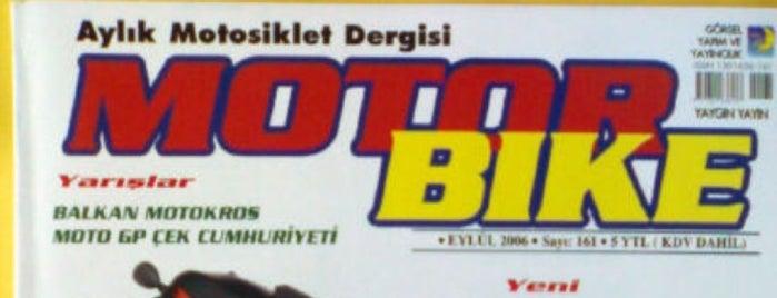 Motorbike Dergisi is one of Ceren 님이 좋아한 장소.