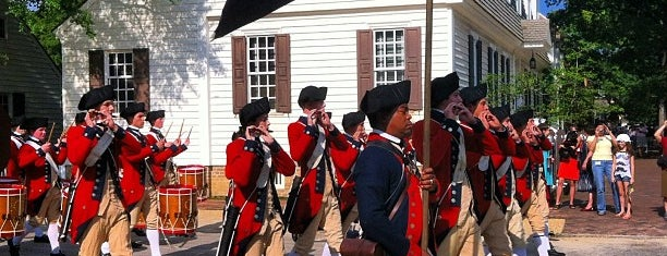 Colonial Williamsburg is one of Historic America.