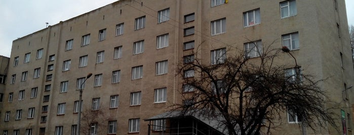 Гуртожиток ЧНУ #7 is one of Чернівецький національний університет.