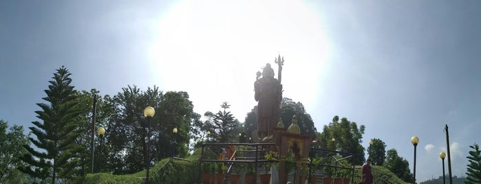 Lord Shiva Statue is one of Nepal.